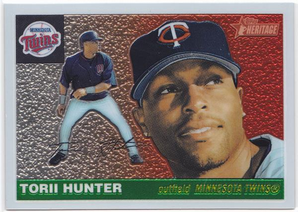 '04 Heritage Chrome Torii Hunter 1955