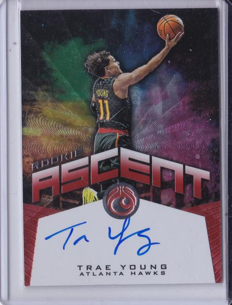 2018 19 Chronicles Trae Young Rookie Ascent Auto