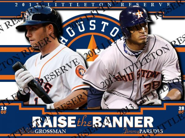 Robbie Grossman/Jimmy Paredes Raise the Banner